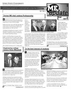 ME Update Fall 1997