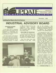 ME Update November 1988