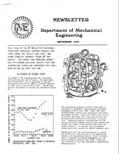 ME Newsletter September 1981
