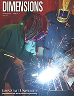 Spring 2017 edition of Dimensions, The Mechanical Engineering alumni magazine