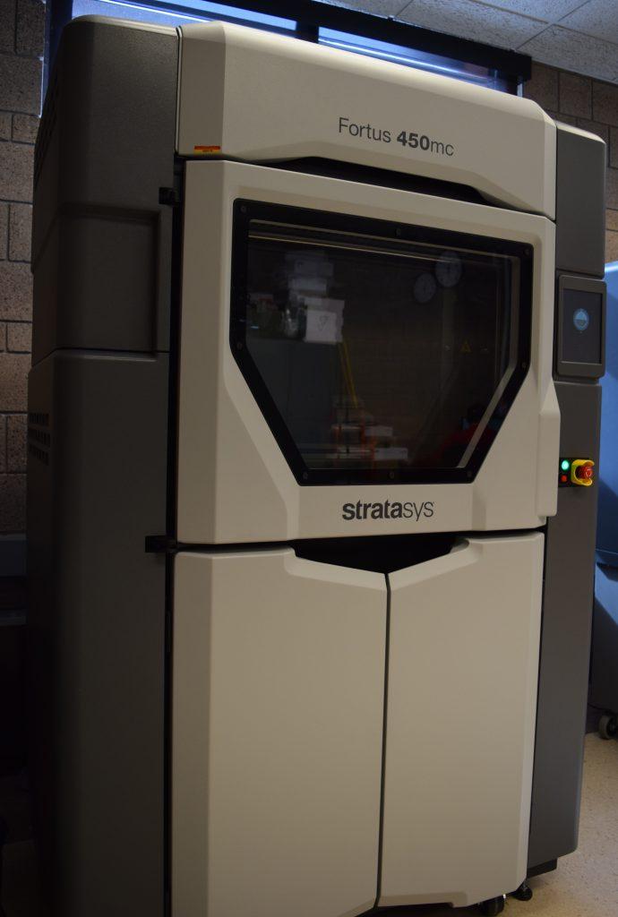 3D printer model Fortus 450mc