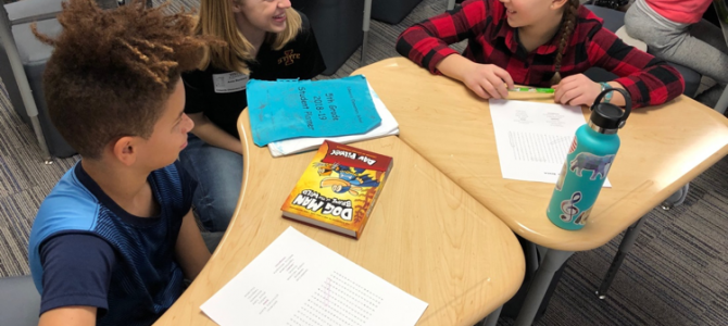 January 15, 2019: Visit to a 5th Grade Class at Edwards Elementary School